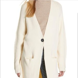 Free People Pocketed Duster Cardigan